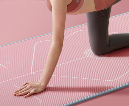 瑜伽垫加厚加宽加长初学者女男防滑健身瑜珈垫子地垫家用舞蹈