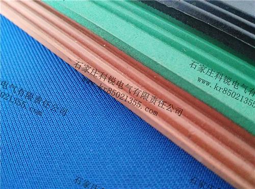 不同颜色的绝缘胶垫在铺设时有什么特殊意义?