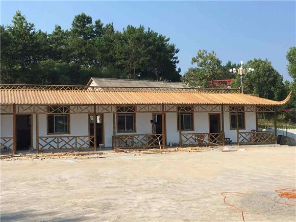 竹房子图片