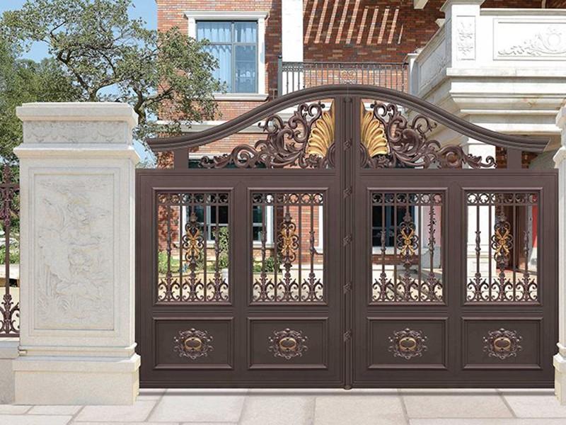 鋁藝大門工藝需要注意哪些方面才可以制作出門窗