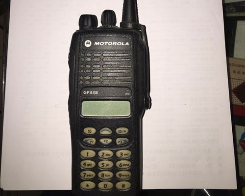 摩托罗拉GP338对讲机