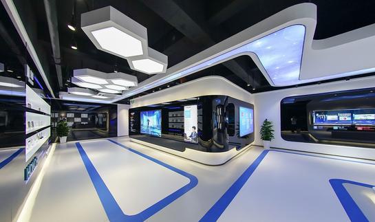 奋达科技展厅装修设计