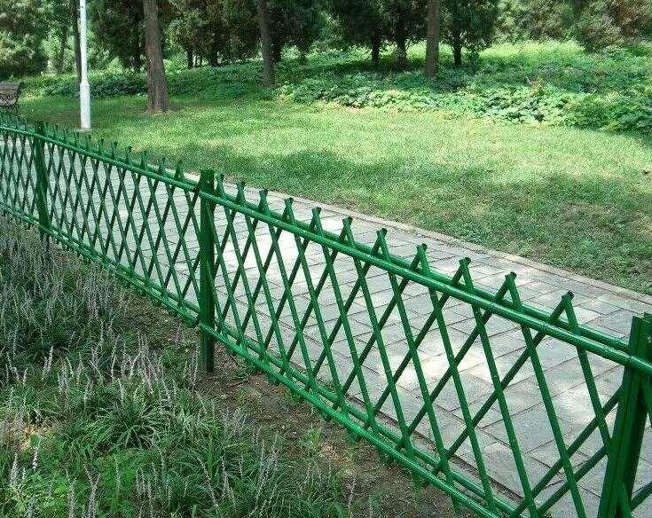 竹篱笆园艺实际应用展现