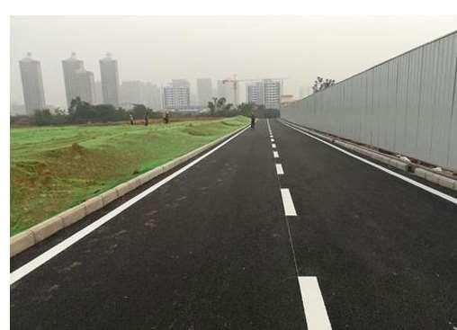 道路划线工作也要固化7S成效