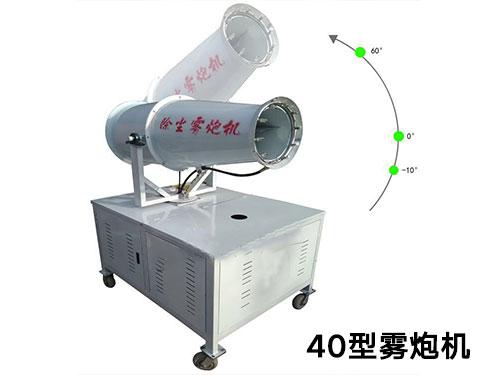 雾炮机雾化喷嘴的基本原理,你了解么?