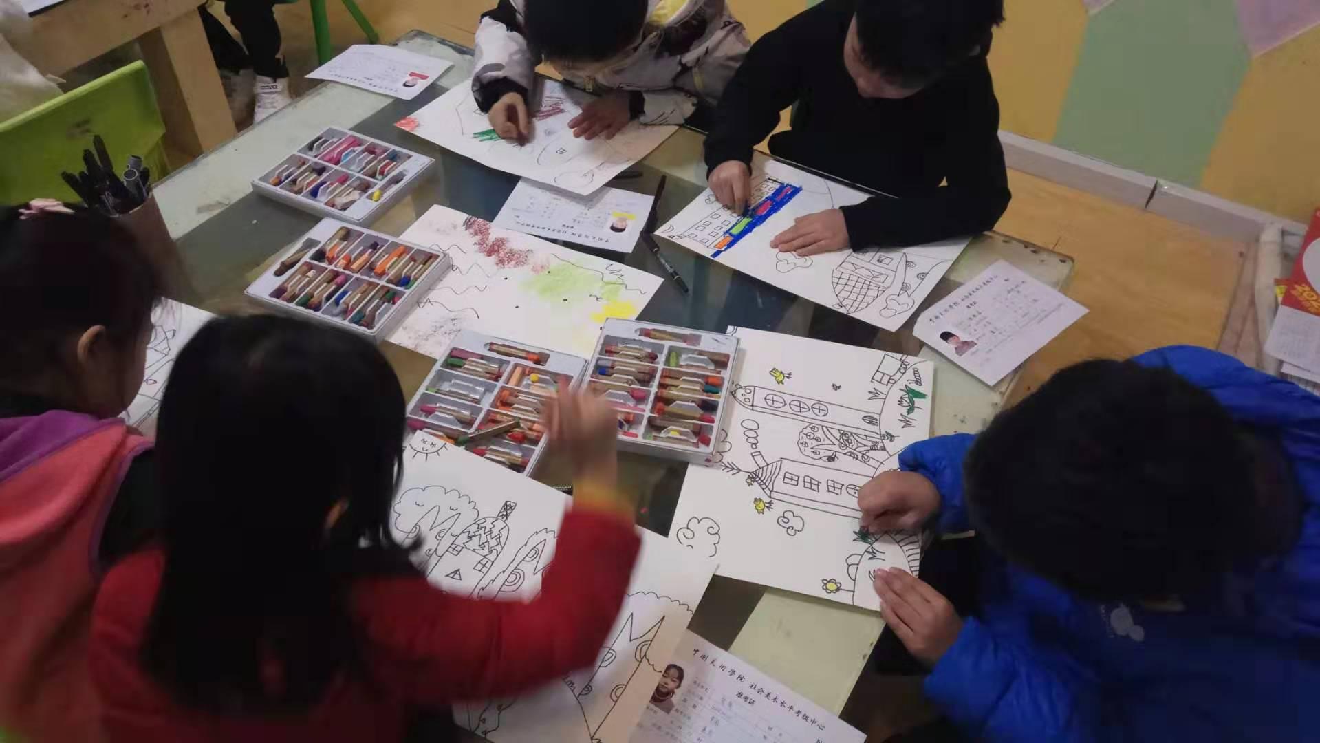 桔子绘画3.4级考试