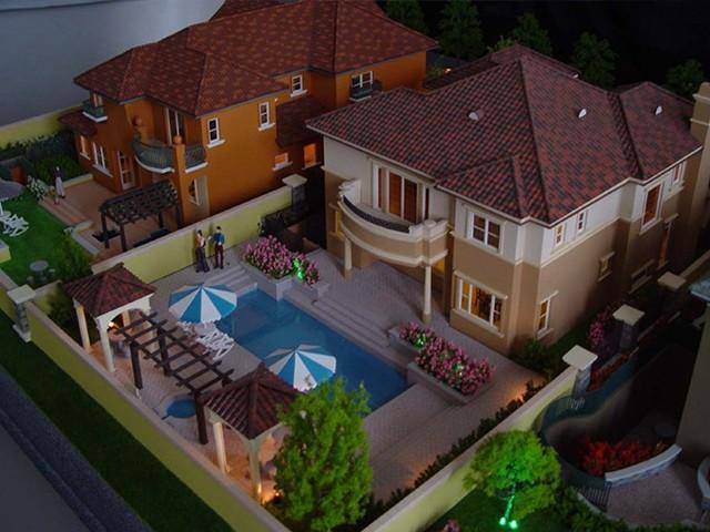 洋房建筑模型
