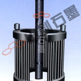 Bird cage and plug-in graphite heat exchanger