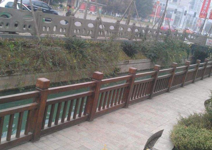 仿木护栏的优势及应用范围