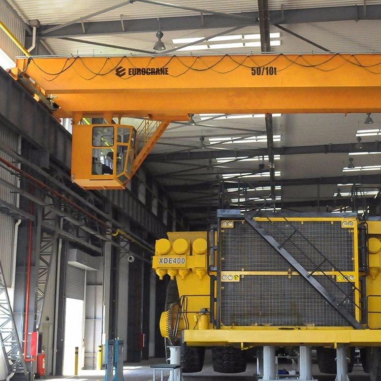 起重机应用金属铸造行业工程案例