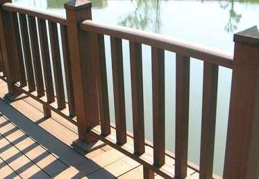 江苏塑木护栏应该怎么存放