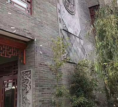 砖雕中式门楼