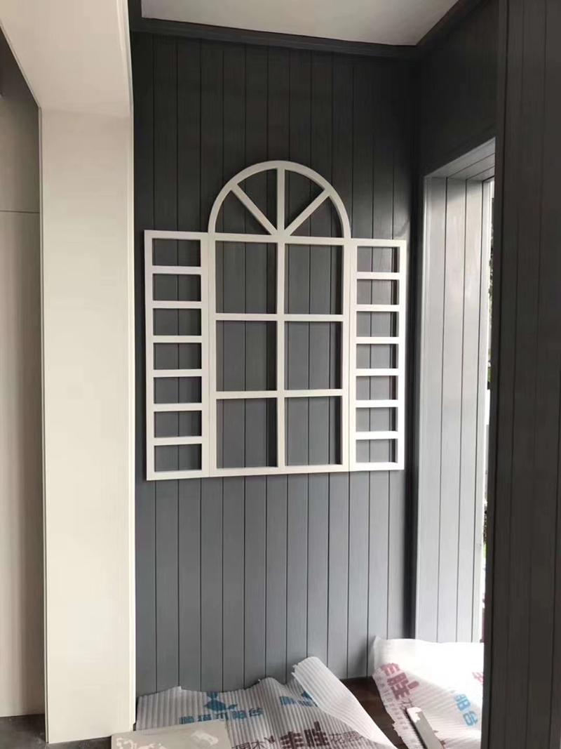 阳台防腐木装修