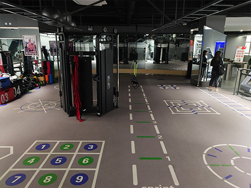 健身房一般常用的健身房地胶垫是什么材料?
