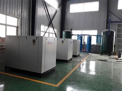 安徽蚌埠某粮食加工厂40立方空压机系统