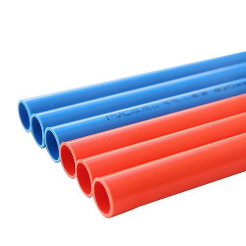 PVC透明红蓝线管