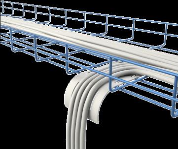 喷塑网格桥架批发生产