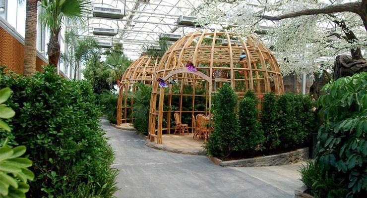 2017溫室生態餐廳設計