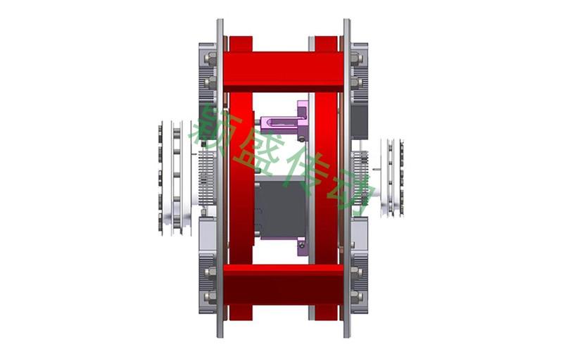 YS-OM扭矩限制型永磁耦合器