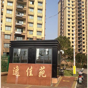 安徽铜陵某小区-岗亭及道闸