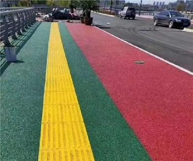 人行道标线施划