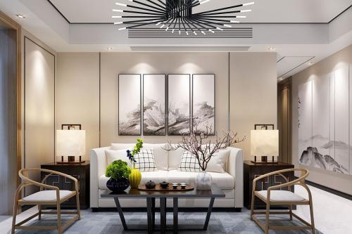 中式装修沙发颜色搭配技巧