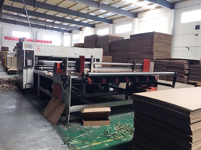 纸箱纸板生产车间