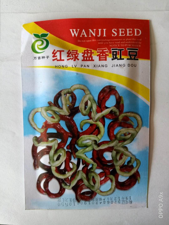 红绿盘香豇豆