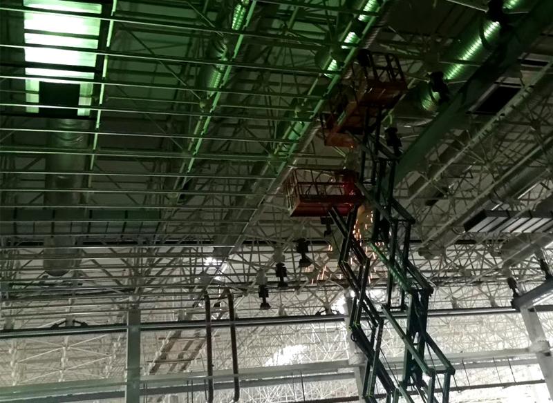 商用中央空调风管安装