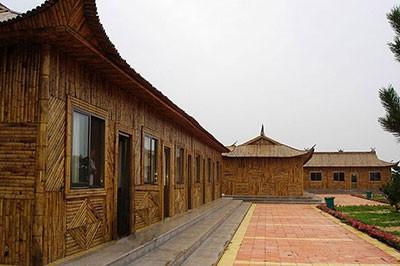 竹房子安装