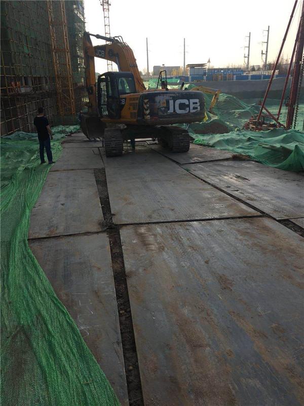 成都垫道钢板租赁专业厂家国盛旺垫道钢板租赁