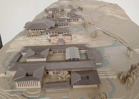 廣陽島文化書院方案模型