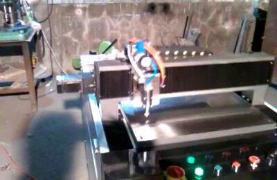 全自动500型超薄玻璃切割机
