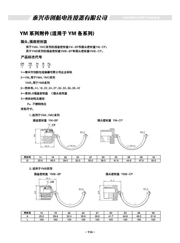 YM系列特种船用附件