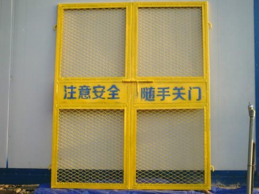 工地防护门、施工电梯安全门都有那些规格?