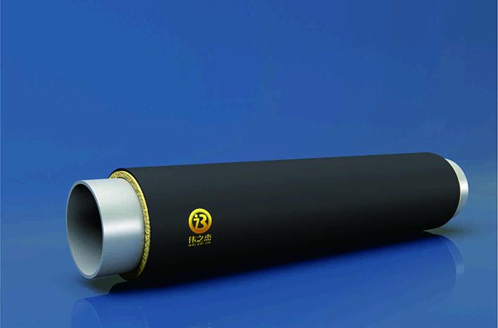 内减阻预制直埋式热水保温管