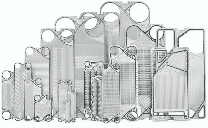 板式换热器中换热管的固定方法