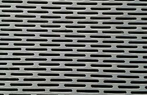 冲孔网孔间距和开孔率的关系