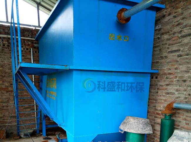 食品加工业废水处理设备使用案例