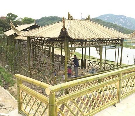 建造竹房子也是有讲究的