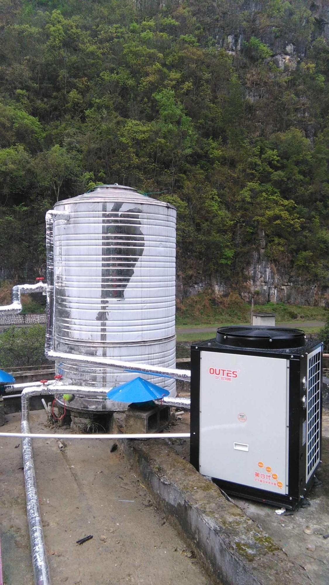龙里某部队空气能热水项目