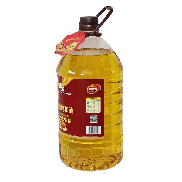 食用植物调和油核桃花生浓香型 5L