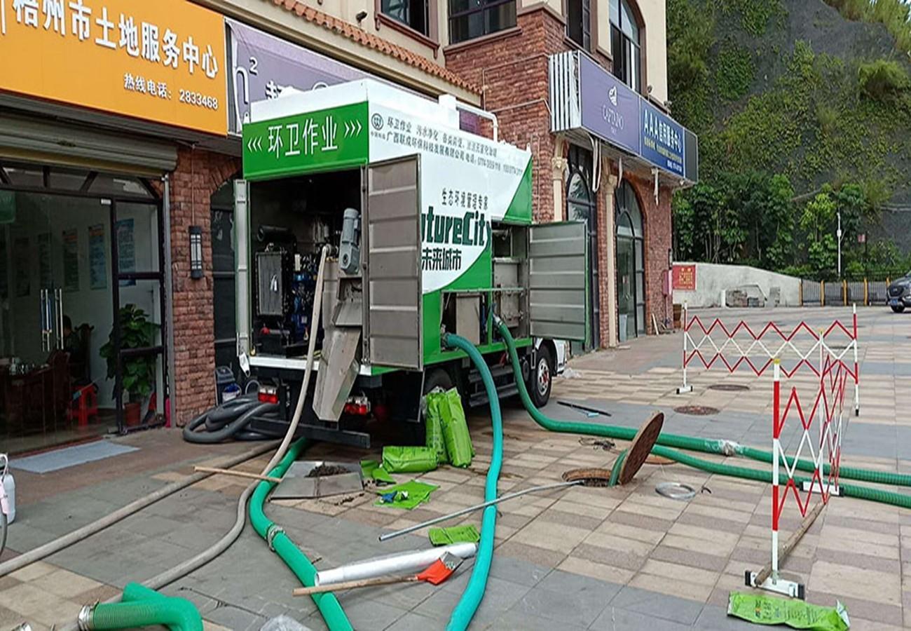 环保粪污清理车