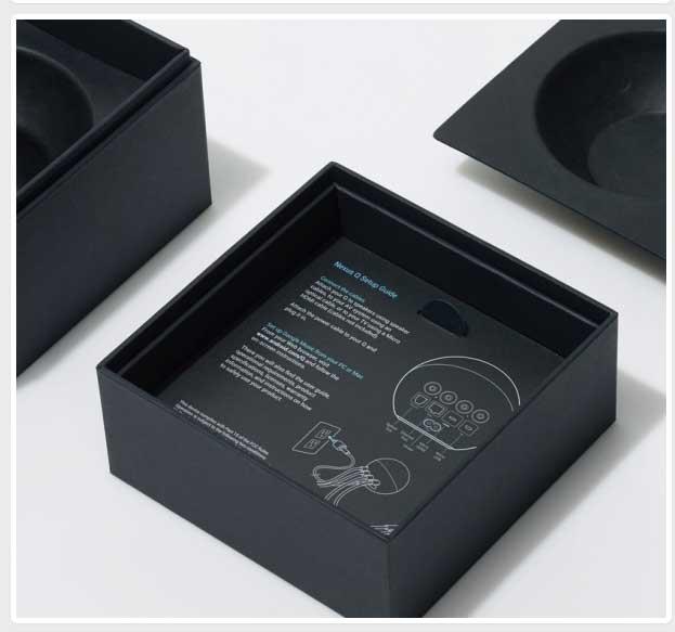 nexus音乐播放器包装盒