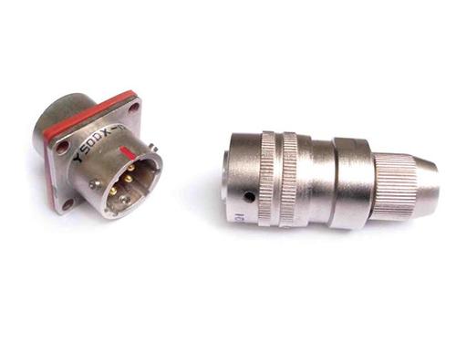 Y50DX 电源系列特种军用防水圆形航空插头、电连接器、接插件