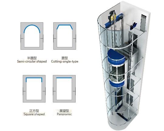 观光电梯MD-G002