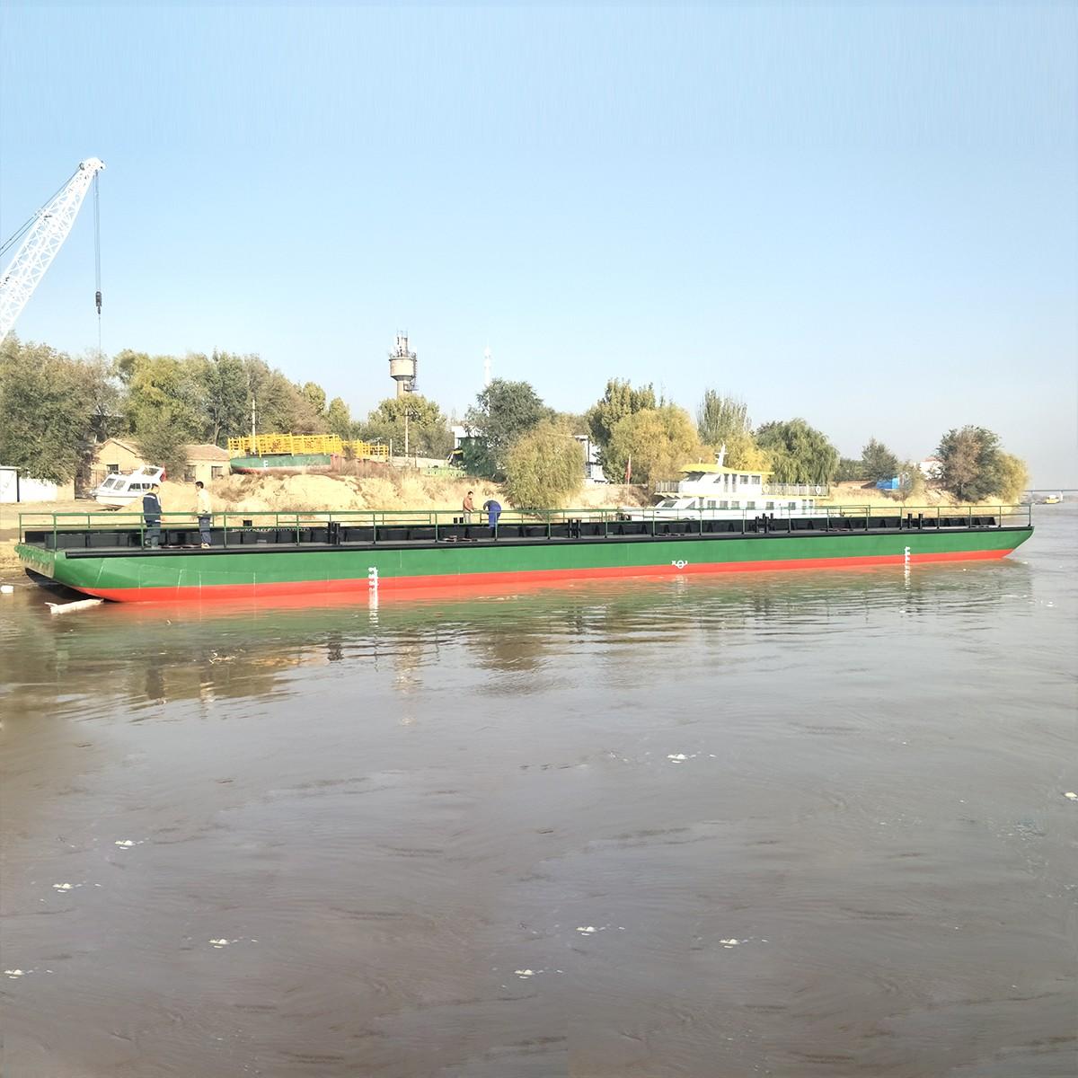 38米浮桥驳黄河浮桥航运