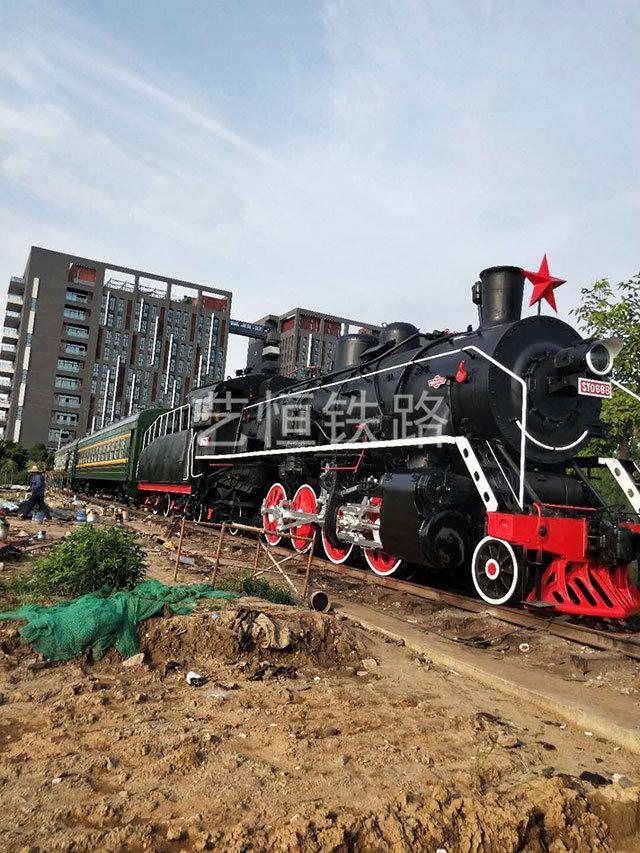 广东佛山顺德铁路公园--上游型蒸汽机车