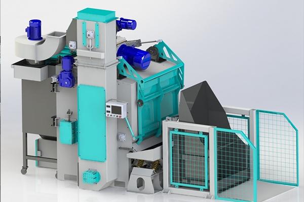 抛丸机是提高铸件质量不可缺少的设备