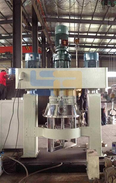 Hollow glue production line